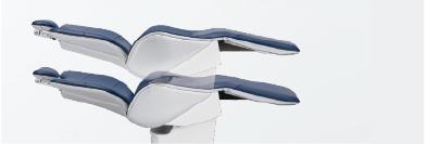 使用PVC皮革的柔軟靠背和座椅